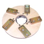 P53530 Drive Plate with Drive Bayonet and Clamps